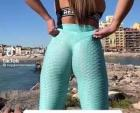 The yoga pants are at it again.